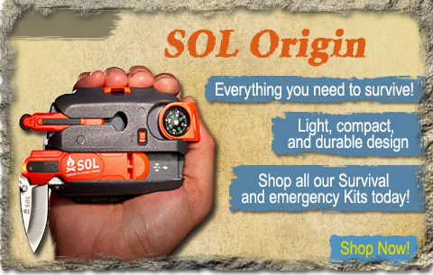 The SOL Origin by Adventure Medical Kits